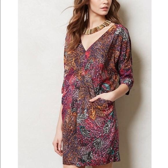 Anthropologie Dresses & Skirts - Anthropologie Patterned dress Edme & Esyllte